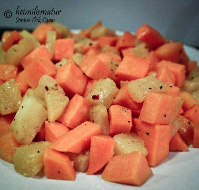 kartöflur-ananas